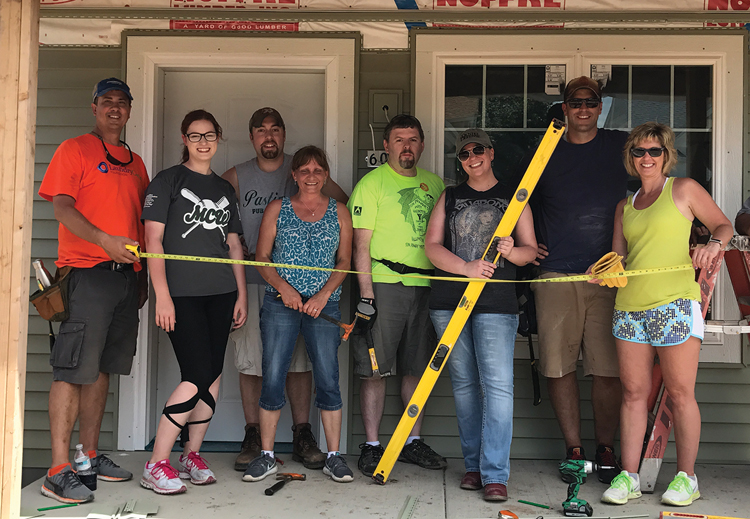Continental Employees Contribute to Local Habitat for Humanity Effort