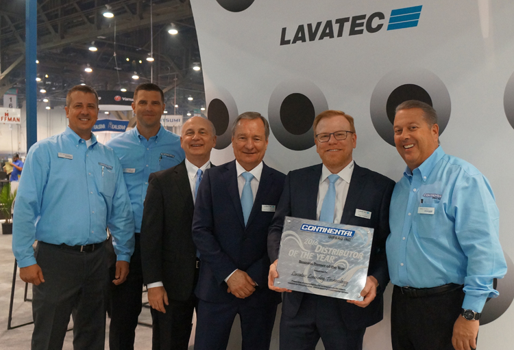 Continental Honors Lavatec with Business Partner of the Year Award
