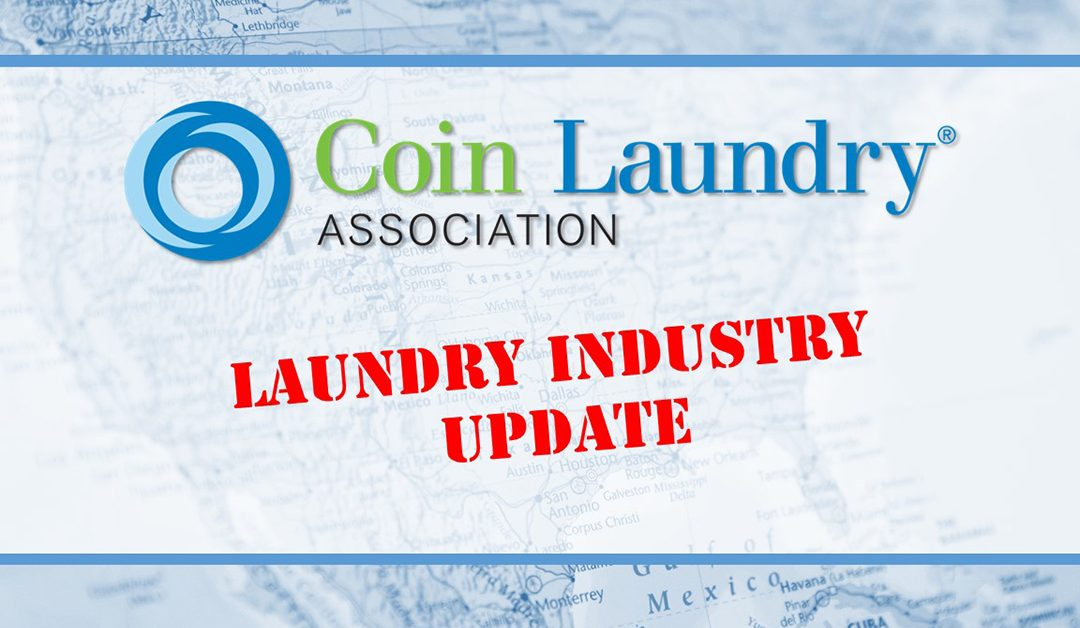 [VIDEO] August 2018 Laundry Industry Update by Brian Wallace