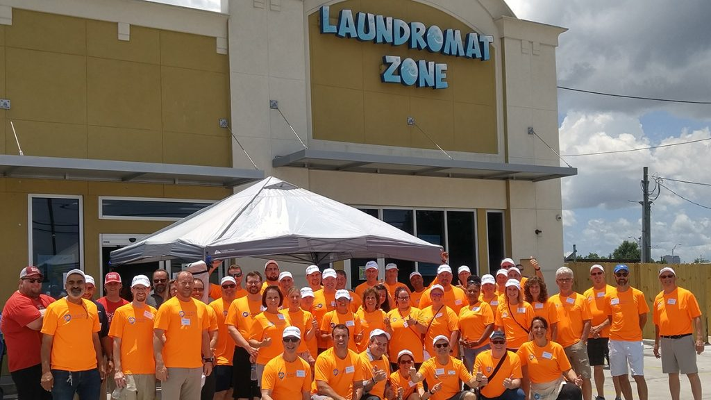 Free Laundry Day Laundromat Zone Team