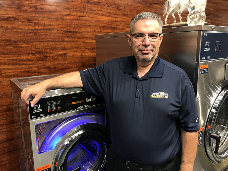 Laundry Owners Warehouse Adds to Services Team