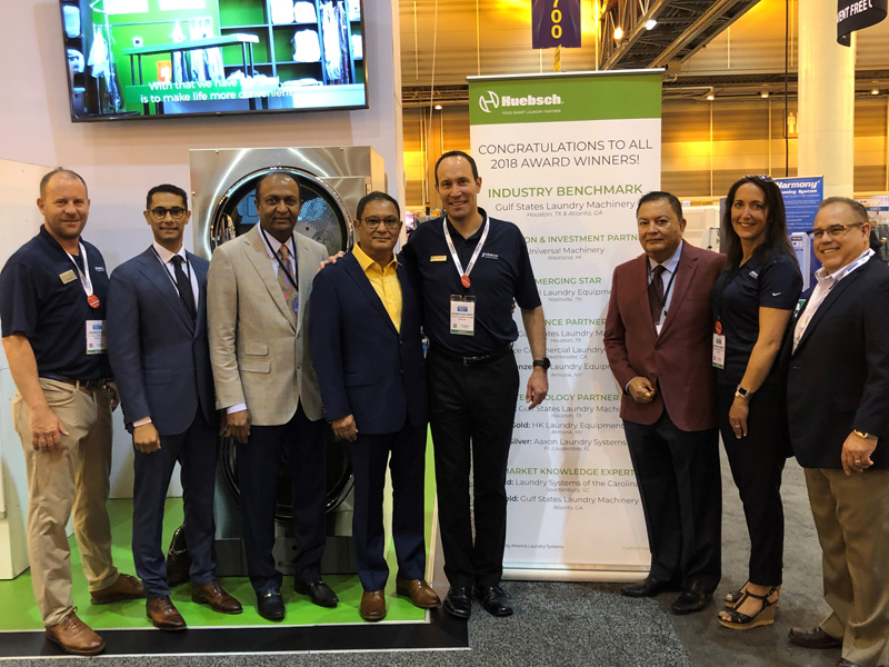 Huebsch Honors Gulf States Laundry Machinery with Industry Benchmark Award
