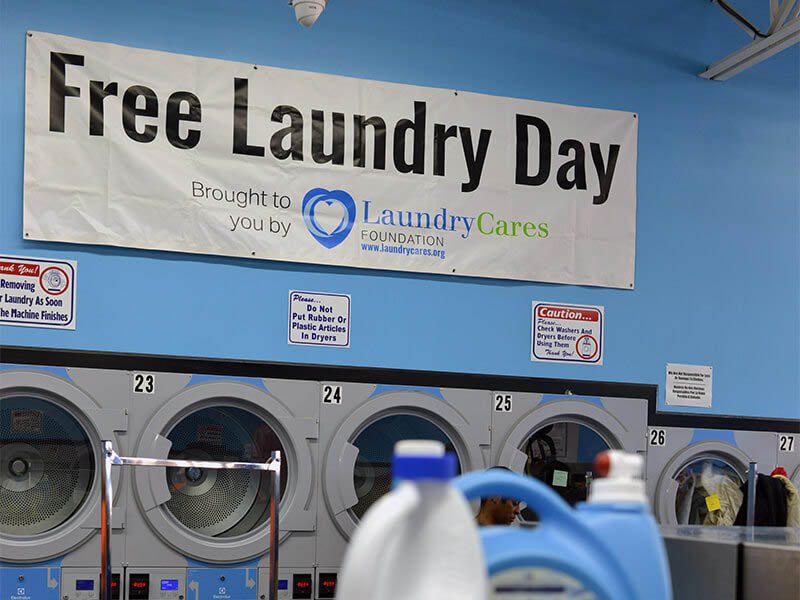 New Learning Space to Highlight Free Laundry Day in Phoenix