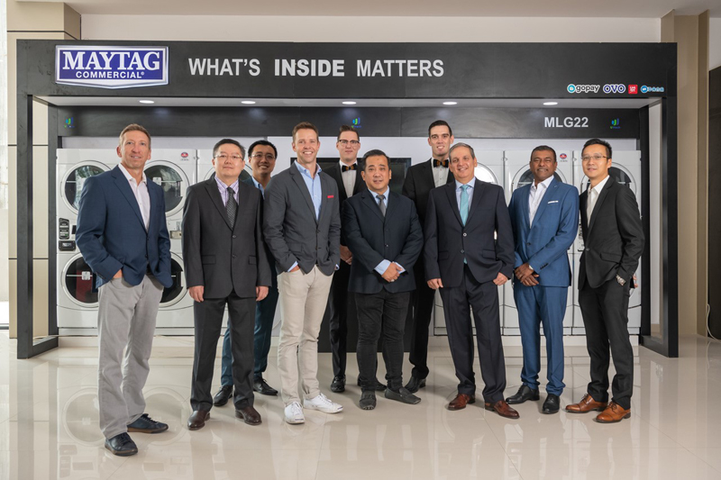 PT. Triton Internasional, Maytag Commercial Laundry Team Up to Launch Equipment Showroom in Indonesia