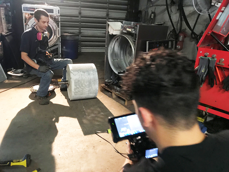 LOW Laundry Releases Video Series on Equipment Service and Maintenance